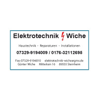 Elektrotechnik Wiche